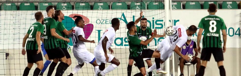 Akhisarspor 1 puanla lige başladı