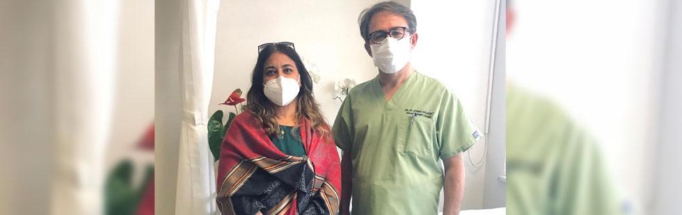 Azerbaycan'dan gelen hastaya kanser cerrahisi ameliyatı