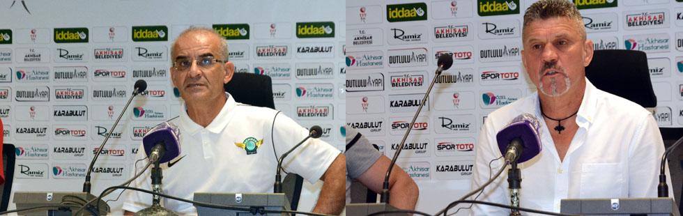 Akhisarspor-Balıkesirspor maçı ardından