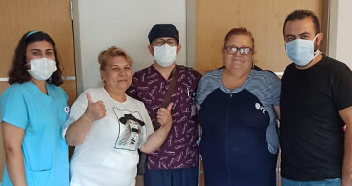 Yurt dışından Akhisar'a gelen iki kardeşe obezite cerrahisi yapıldı