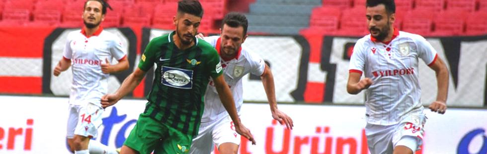Akhisarspor, Samsun'dan eli boş döndü 1-0