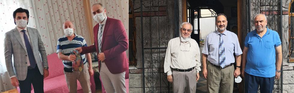 Akhisar Müftülüğü emekli din görevlilerini unutmadı
