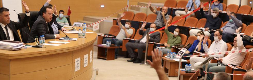 Akhisar Belediyesi 2020 Ekim ayı olağan meclis toplantısı yapıldı
