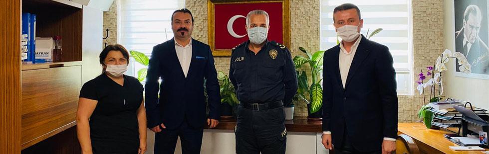 Emniyet Müdürü Başaran'dan Özel Akhisar Hastanesi'ne iade-i ziyaret