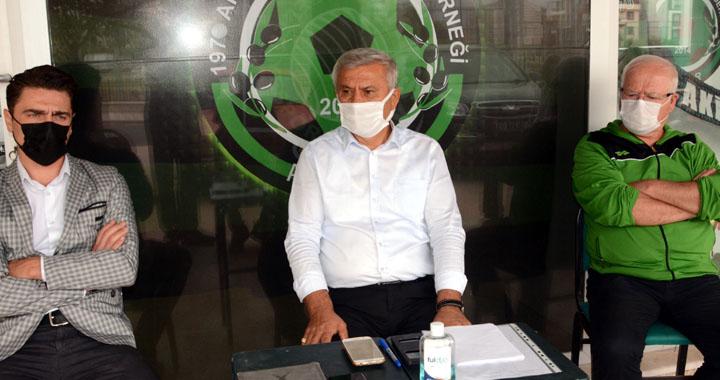 """Doğan;"""" Akhisarlılar, her zaman Akhisarspor'a sahip çıkmıştır"""" dedi"""