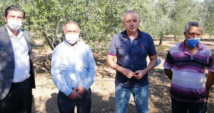 Bakırlıoğlu: Manisa büyükşehir çiftçiyi mağdur etti