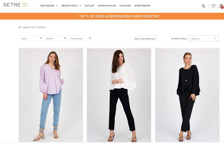Setre Giyim Tulum Modelleri İle Her Sezon Şık Olmak Elinizde