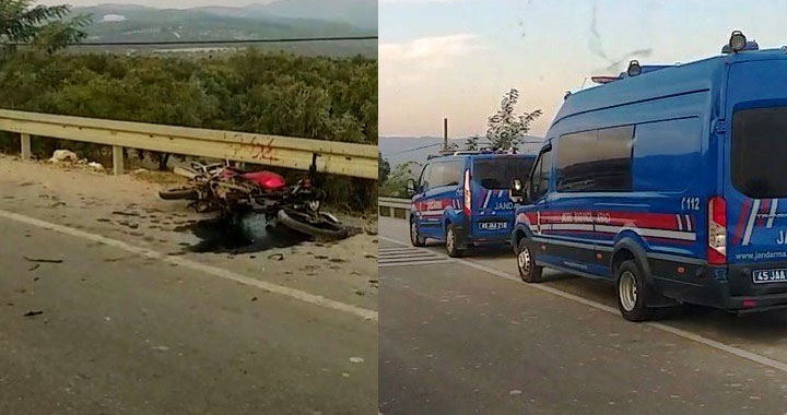 Otomobil ile motosiklet kazası 1 kişi hayatını kaybetti