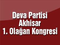 Deva Partisi Akhisar 1. Olağan Kongresi