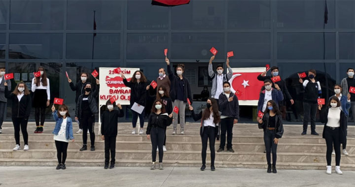 Merkez Koleji'nde Cumhuriyet Bayramı coşkusu