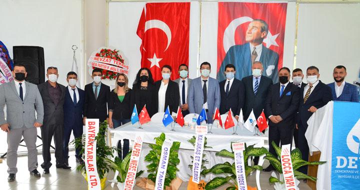 DEVA Partisi Akhisar ilçe kongresi yapıldı