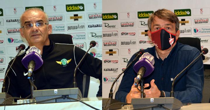 Akhisarspor, Beypiliç Boluspor maçı ardından