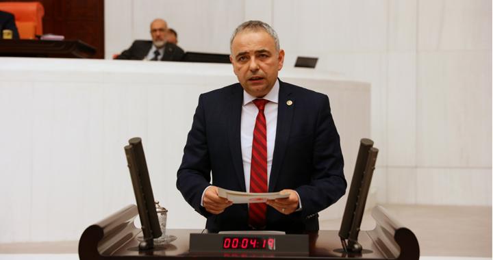 Bakırlıoğlu'ndan çiftçi borçları için kanun teklifi