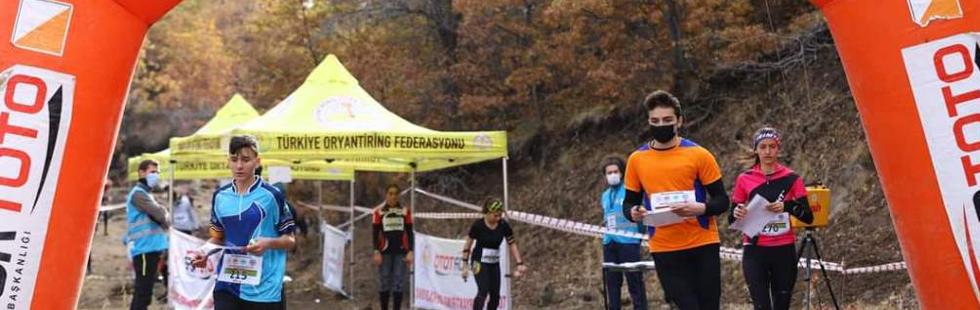 Aksaray'daki Türkiye  Oryantiring Şampiyonasına Akhisar damgası