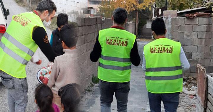 Akhisar Belediyesi, sokağa çıkma kısıtlamalarında halkın yanında ve hizmetinde