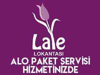 Lale Lokantası bir telefon kadar yakın!