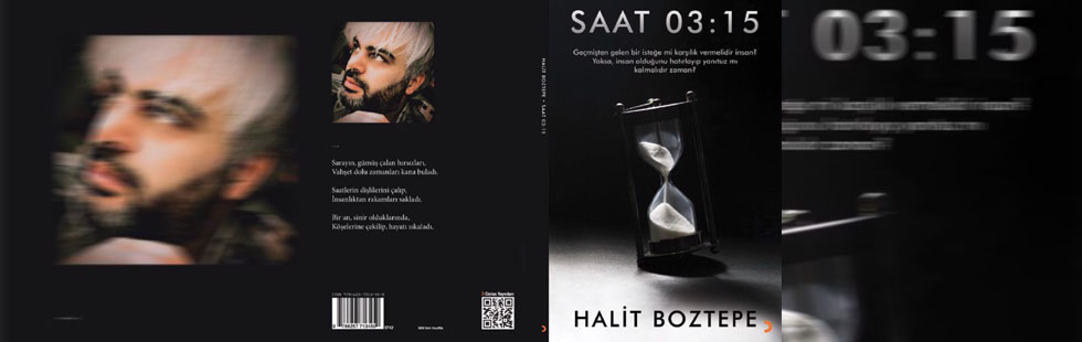 Akhisarlı yazar Halit Boztepe'nin ilk şiir kitabı yayında