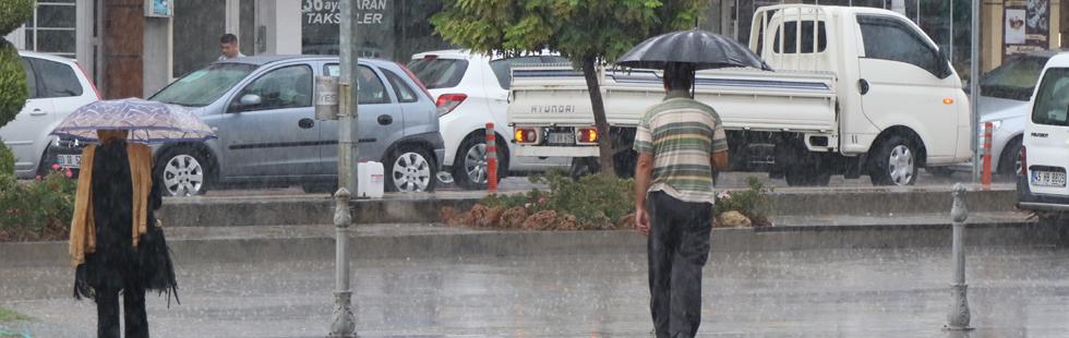 İşte son 24 saatte Akhisar'da metrekareye yağan yağmur