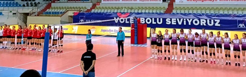 Akhisargücü'nün Sultanları, Altekma Voleybol takımını 3-0 mağlup etti