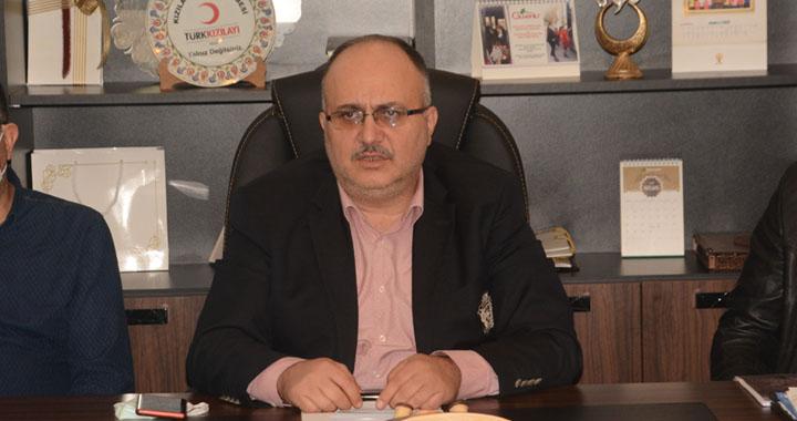 AK Parti ilçe başkanı Füzün'den açıklamalar