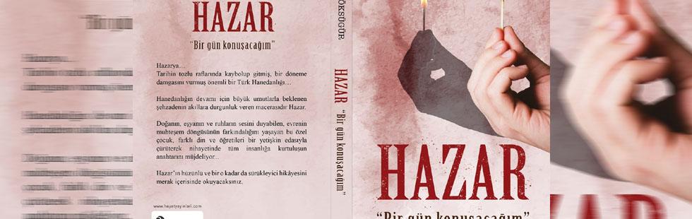 Adem Göksügür'ün üçüncü romanı 'Hazar' okurları ile buluştu