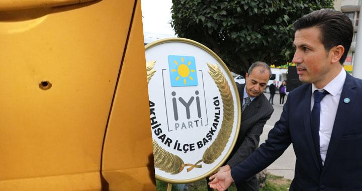 İYİ Parti Akhisar İlçe Başkanına silahlı saldırı oldu