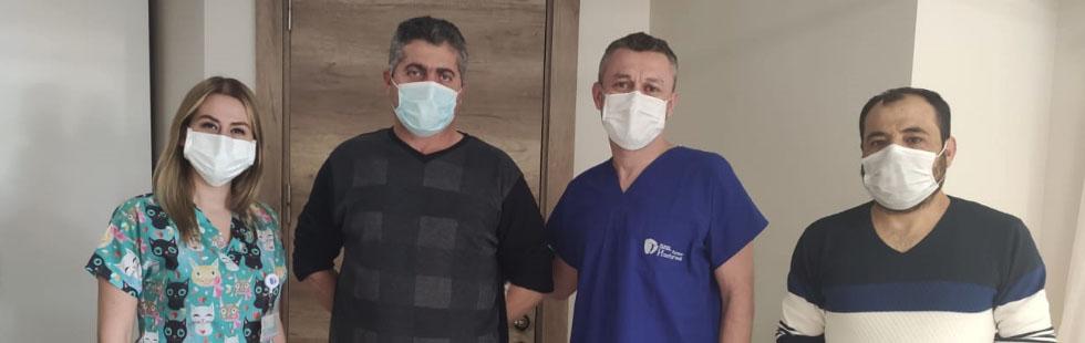 Mikro cerrahi yöntemi ile bel fıtığı ameliyatı olup aynı gün içinde taburcu oldular