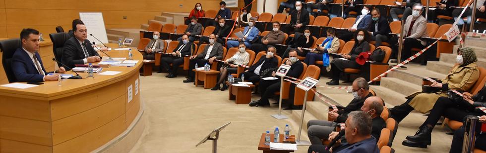 Akhisar'da yeni yılın ilk meclis toplantısı yapıldı