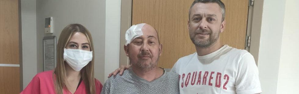 Özel Akhisar Hastanesinde başarılı bir beyin tümörü ameliyatı daha yapıldı