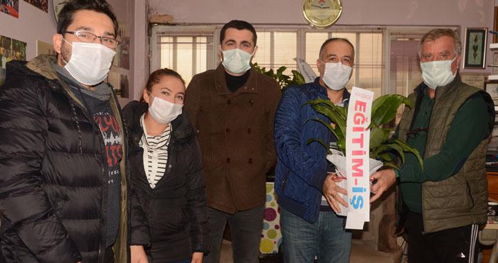 Eğitim-İş, Çalışan Gazeteciler günümüzü kutladı