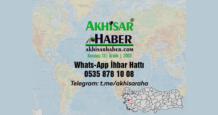 Haritada renk değişti, Akhisar'da Pazar günü yasak var