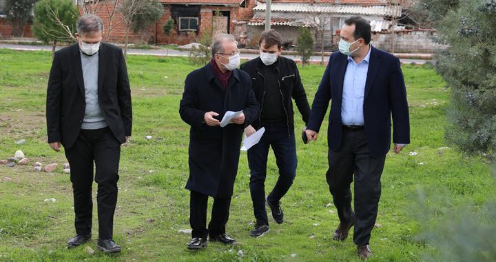 Akhisar Belediyesi'nden Seyitahmet Mahallesine müjde