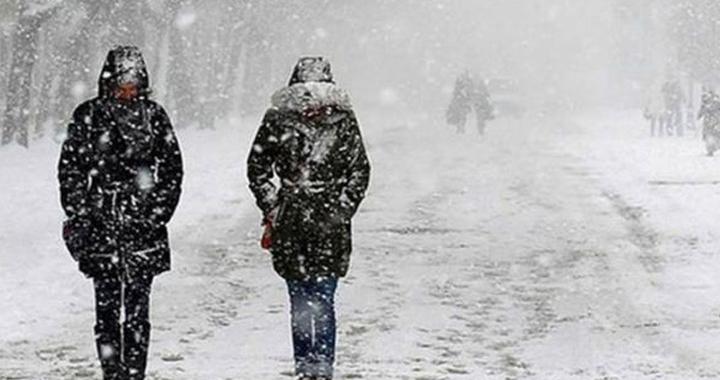 Fırtınayla birlikte kar yağışı bekleniyor!