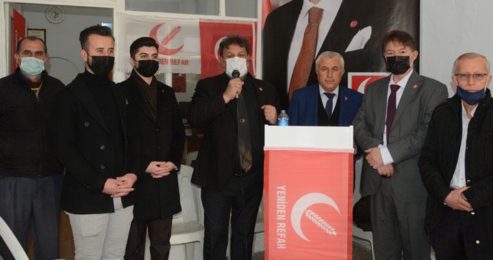 Yeniden Refah Partisi, basın açıklaması