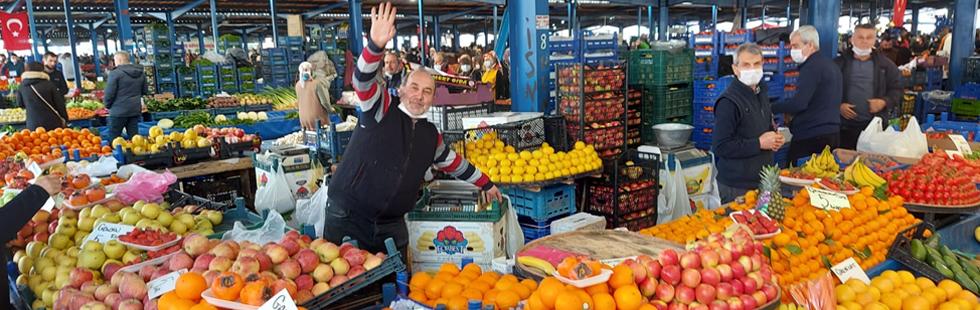 Pazar pazarı normal gününde kurulacak