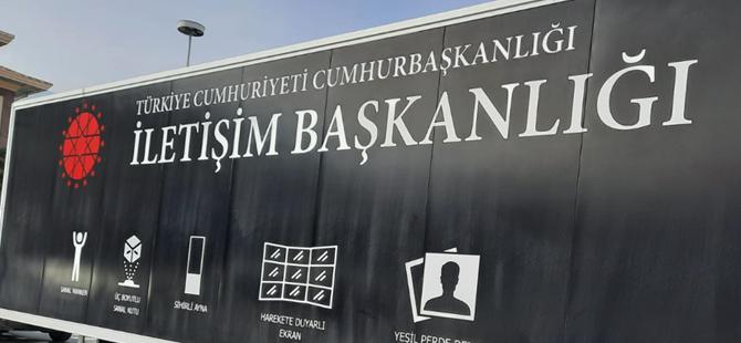Cumhurbaşkanlığı iletişim başkanlığının dijital tırı Türkiye'yi dolaşacak