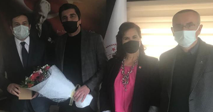 CHP İlçe Teşkilatı Tıp Bayramını kutladı