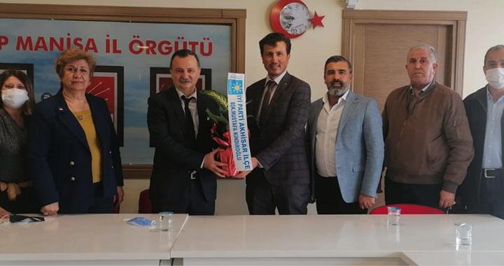 İyi Parti Akhisar ilçe başkanından ittifak ortağına ziyaret