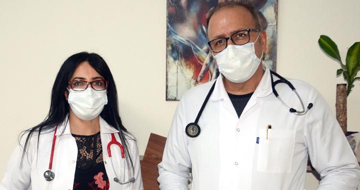 Mehtap Halaza ve Hüseyin Cahit Elmacı hasta kabulüne başladı