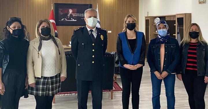 Lokantacılar Odası, Polis Haftası nedeniyle Başaran'ı ziyaret etti