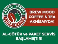 Brew Mood, gel-al ve paket servisle hizmet veriyor