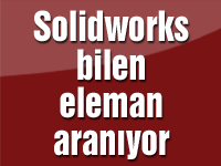 Solidworks bilen eleman aranıyor