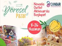 Yöresel Pazar Novada Outlet Akhisar'da başlıyor