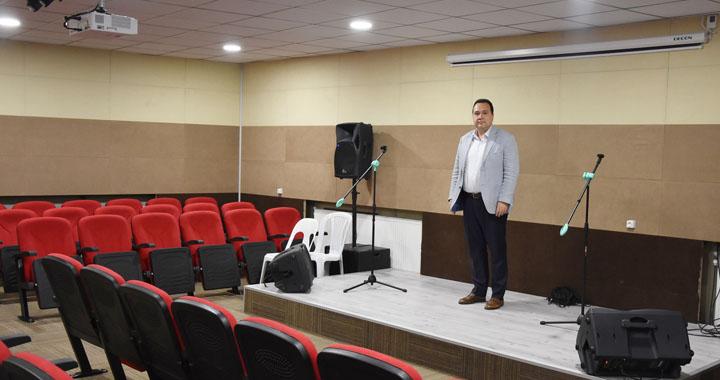 Akhisar Belediyesi'nden Cemevi'ne konferans salonu