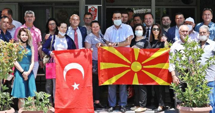 Akhisar'dan Makedonya'ya Kardeşlik Köprüsü