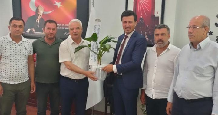 İyi Parti'den, Saruhanlı Belediye Başkanı Bilgin'e ziyaret