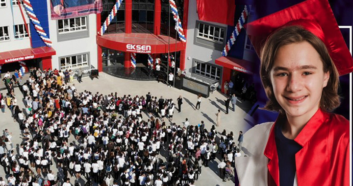 LGS Türkiye Birincisi Akhisar Eksen Koleji'nden