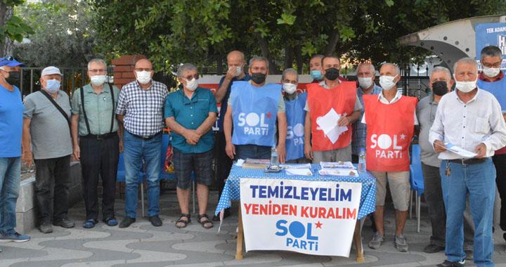 SOL Parti: Gelin Türkiye'yi halkın sesiyle aydınlatalım