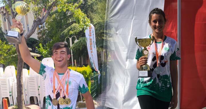 Oryantiring Milli Takım kadrosuna Akhisarlı iki sporcu çağrıldı