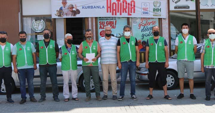 Akhisar İHH'dan Mescid-i Aksa basın açıklaması
